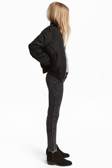 Treggings - Black washed out - Kids | H&M IE 1