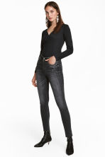 Skinny High Ankle Jeans - Grey - Ladies | H&M CN 1