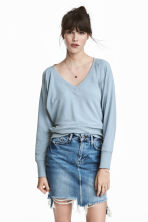 Sweater - Lichtblauw - DAMES | H&M BE 1