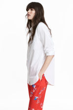 Cotton shirt - White - Ladies | H&M 1