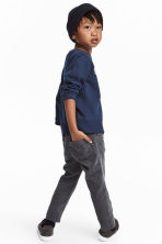Corduroy trousers - Grey - Kids | H&M CN 1