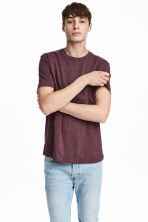 T-shirt Regular fit - Bordeaux -  | H&M CH 1