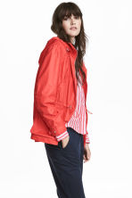 Hooded jacket - Red - Ladies | H&M CN 1
