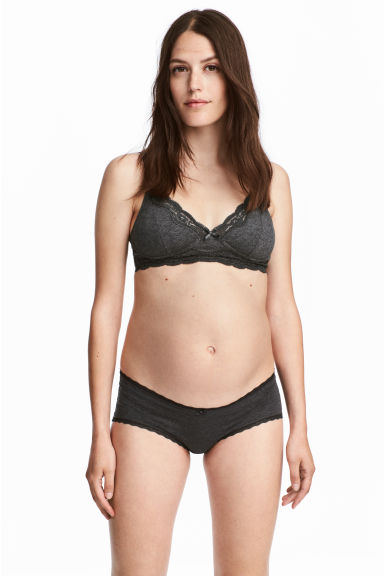 MAMA 3-pack hipster briefs - Gray - Ladies | H&M CA 1