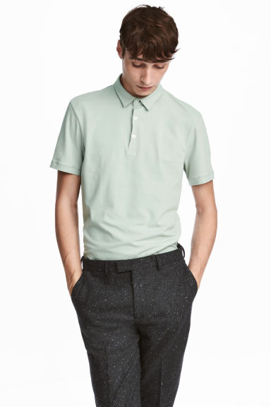 Polo shirt Slim Fit Model