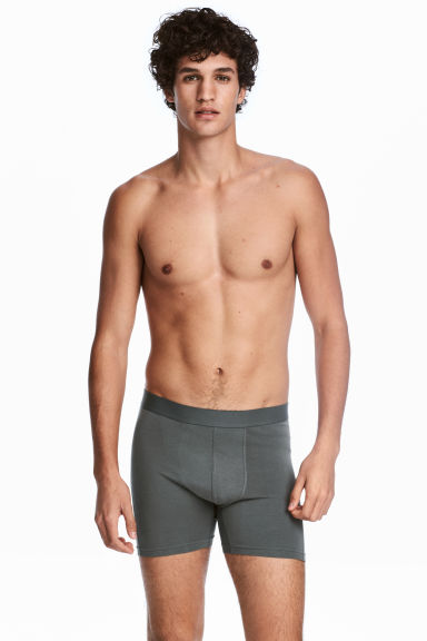 3-pack boxers - Grey -  | H&M CN 1