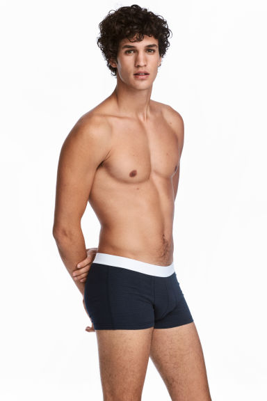 3-pack trunks - Blue - Men | H&M 1