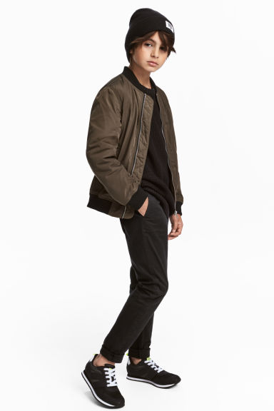 Slim Fit Chino - Siyah -  | H&M TR