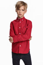 Cotton shirt - Red - Kids | H&M 1