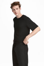 Modal jersey T-shirt - Black - Men | H&M 1