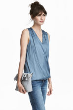 MAMA Nursing blouse - Blue - Ladies | H&M 1