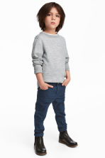 Stretch trousers Slim fit - Dark blue - Kids | H&M 1