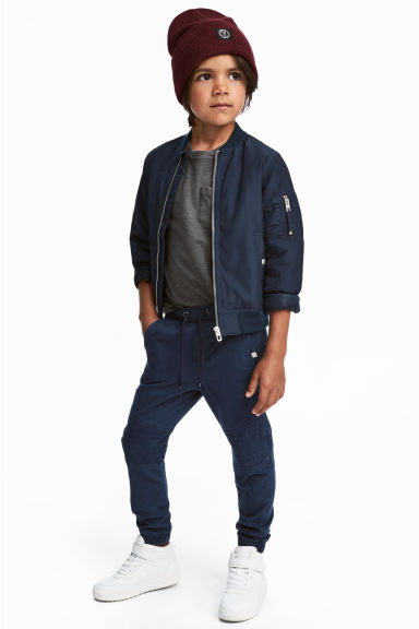 Trousers - Dark blue - Kids | H&M CN 1