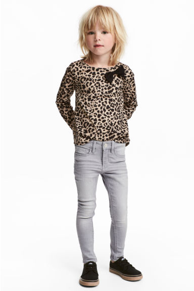 Superstretch Skinny Fit Jeans - 浅灰色 - Kids | H&M CN