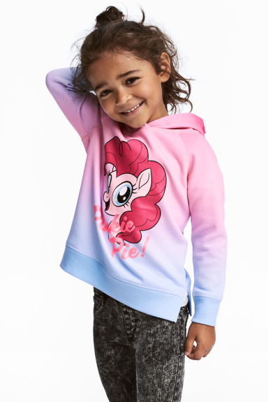 Sweat-shirt à capuche - Rose/My Little Pony - ENFANT | H&M BE