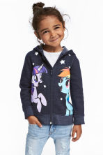 Printed hooded jacket - null - Kids | H&M CN 1