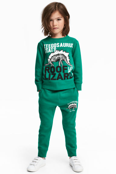 Joggers - Green -  | H&M 1