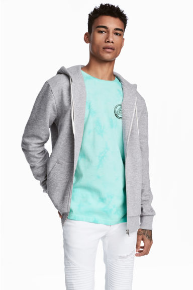 Kapüşonlu Sweatshirt Model