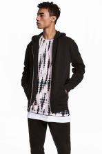 Hooded jacket - Black - Men | H&M CN 1