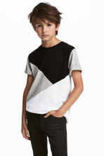 T-shirt - Grey marl - Kids | H&M CN 1