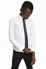 Shirt with a tie/bow tie - White/Tie - Kids | H&M 1