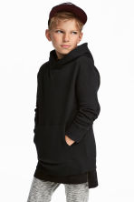 Hooded top - Black - Kids | H&M 1