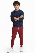 Sweatpants - Dark red - Kids | H&M 1