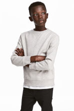 Sweatshirt - Light gray - Kids | H&M CA 1