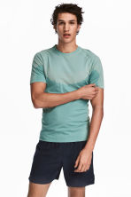 Seamless running top - Mint green - Men | H&M 1