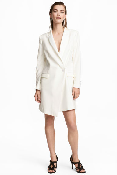 Jacket dress - Natural white - Ladies | H&M
