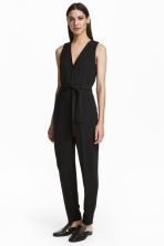Jumpsuit - Black - Ladies | H&M CN 1