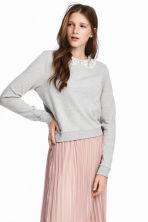 Jumper - Light grey marl -  | H&M CN 1