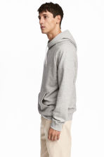 Hooded top with raglan sleeves - Grey - Men | H&M CN 1
