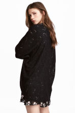 Lace cardigan - Black - Ladies | H&M 1