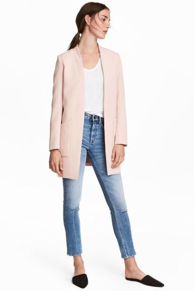 Short coat - Powder pink - Ladies | H&M 1