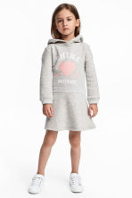 Sweatshirt Dress - Light gray melange - Kids | H&M CA 1