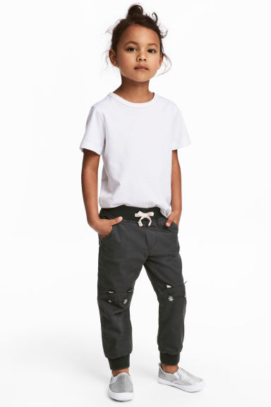Pull-on Pantolon - Koyu gri - Kids | H&M TR 1