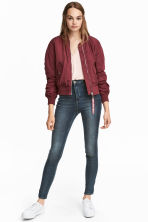 Super Skinny High Jeans - Denim blue/Washed - Ladies | H&M 1