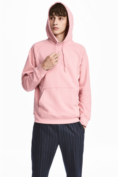 Sweatshirt with Raglan Sleeves - Light pink - Men | H&M CA