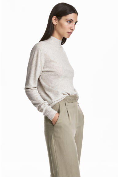 Cashmere Sweater - Light grey - Ladies | H&M CA