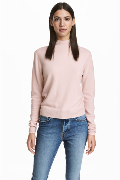 Cashmere Sweater - Powder pink - Ladies | H&M CA 1