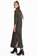 Calf-length T-shirt Dress - Dark gray - Ladies | H&M CA 1