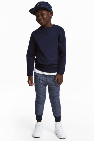 Joggers - Blue marl -  | H&M 1