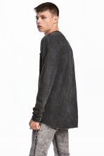 長袖上衣 - Dark grey - Men | H&M 1