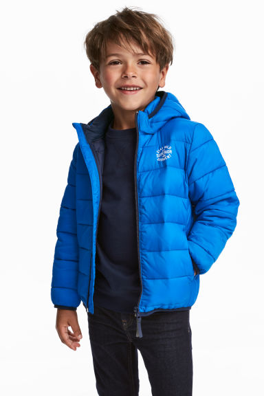 Lightweight padded jacket - Blue - Kids | H&M 1