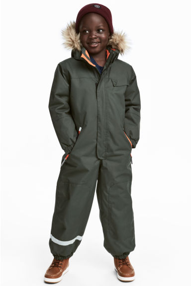 Outdoor all-in-one suit - Khaki green -  | H&M