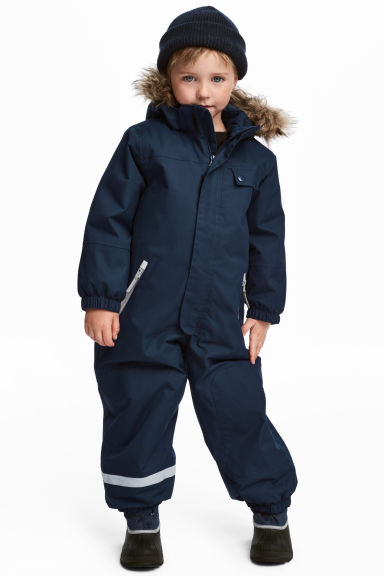Outdoor Snowsuit - Dark blue - Kids | H&M CA 1