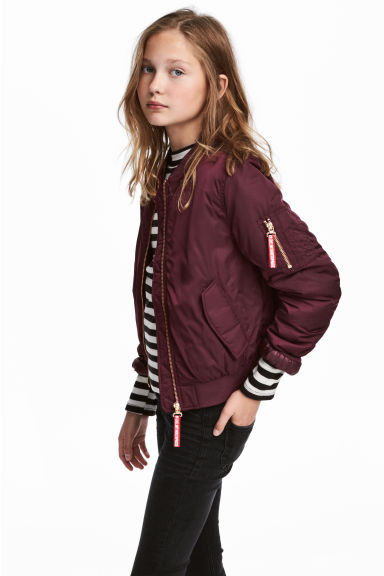 Bomber - Bordeaux - BAMBINO | H&M IT