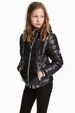 Padded jacket - Black - Kids | H&M CN 1