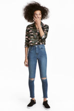 Slim High Trashed Jeans - Light denim blue - Ladies | H&M 1